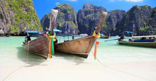 Tailândia vai proibir barcos em Maya Bay na baixa temporada