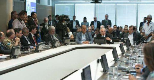Michel Temer anuncia que criará Ministério da Segurança Pública