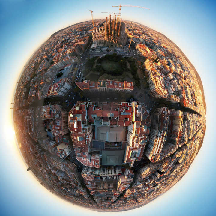 A Sagrada Família é o monumento mais visitado da Espanha