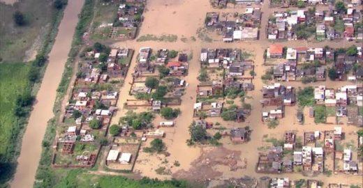 Temporal no Rio de Janeiro deixa 4 mortos e causa alagamentos