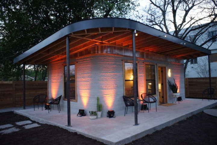 Essa casa impressa em 3D fica pronta em até 24 horas