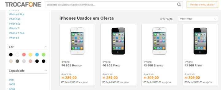 e6a027490dd Crédito  LucianaTrocafone vende iPhones seminovos com garantia e preço bem  mais em conta que um produto novo