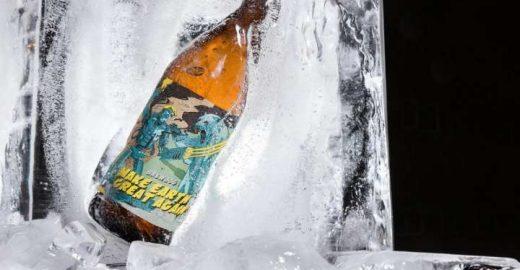 Cerveja lança edição pelo aquecimento global: Trump X Urso Polar