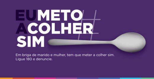 Ação do Magazine Luiza 'mete a colher' contra violência doméstica