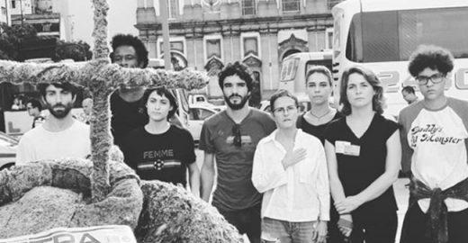 Famosos marcam presença em ato por Marielle Franco no RJ