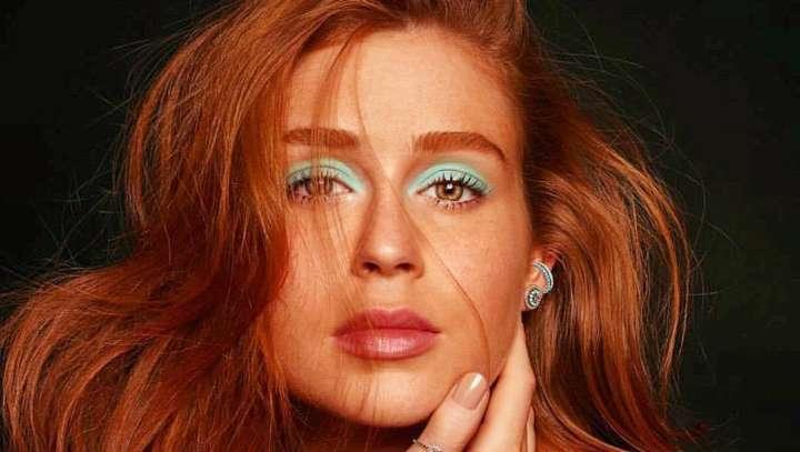 a29ba3de3e060 Marina Ruy Barbosa posa sem maquiagem para capa da Vogue Brasil