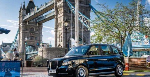 Novos táxis pretos de Londres serão todos elétricos
