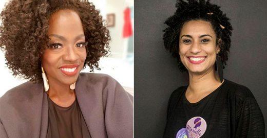 Viola Davis presta homenagem a Marielle Franco nas redes sociais