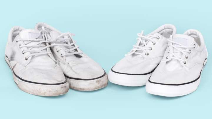 3c0c9968542 Crédito  Getty Images iStockphoto6 maneiras de como limpar seu tênis branco  sem estresse