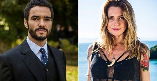 Caio Blat 'vira' filho de Letícia Spiller e causa estranheza