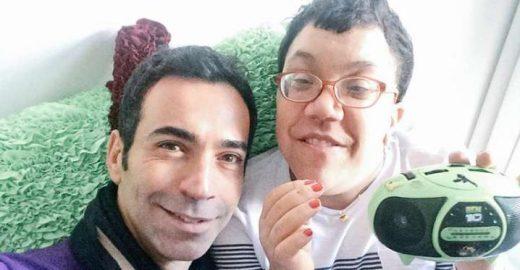 César Tralli lamenta morte da irmã caçula