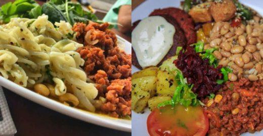 Restaurante tem bufê de comida vegana à vontade por R$ 10