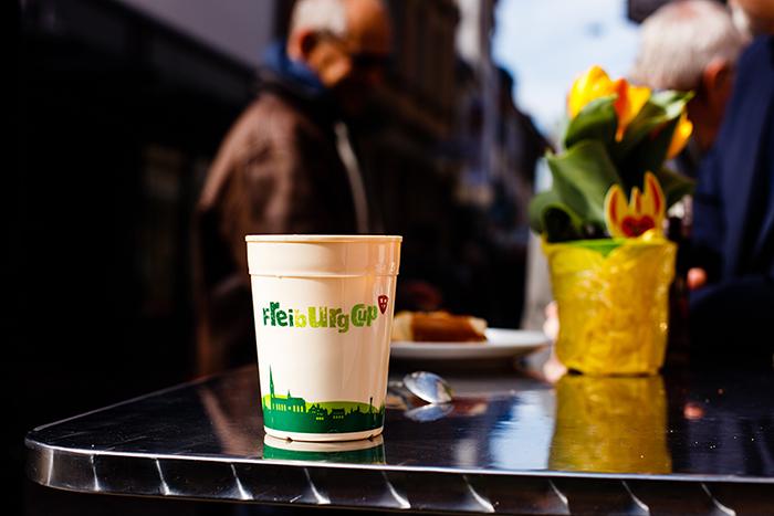 O copo de café retornável pode ser reutilizado até 400 vezes