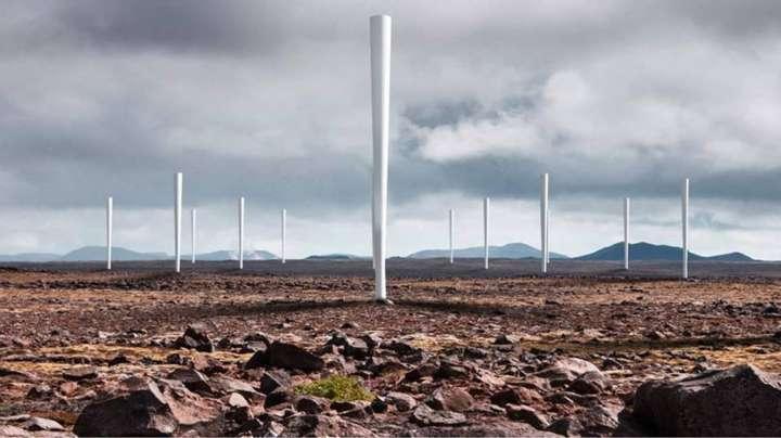 As turbinas de energia eólica são mais silenciosas e discretas