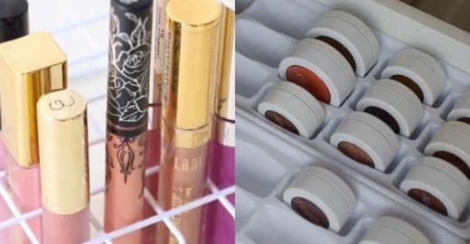 Como fazer um organizador de maquiagem reutilizando itens de casa