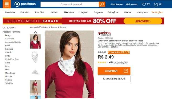 c9101c5b15 E-commerce de moda feminina tem queima de estoque com até 80% OFF