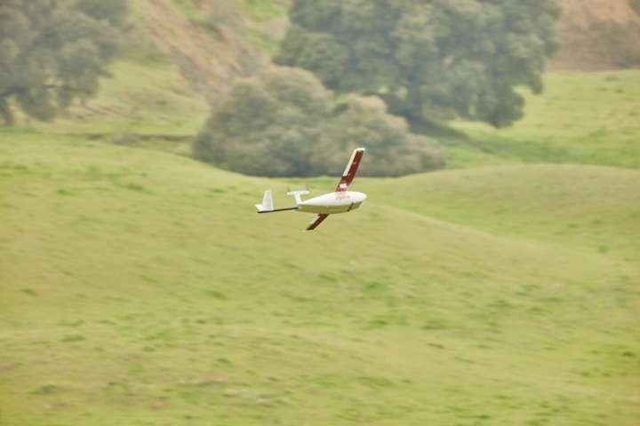 O drone faz entregas a distâncias de até 75 km
