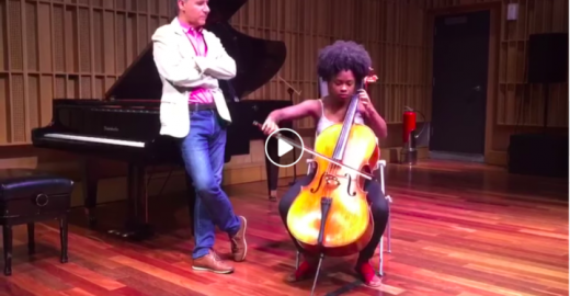 O sonho de uma violoncelista de uma favela do Rio