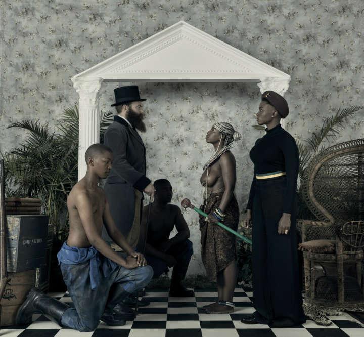Obra 'Genesis', do zimbabuano Kudzanai Chiurai