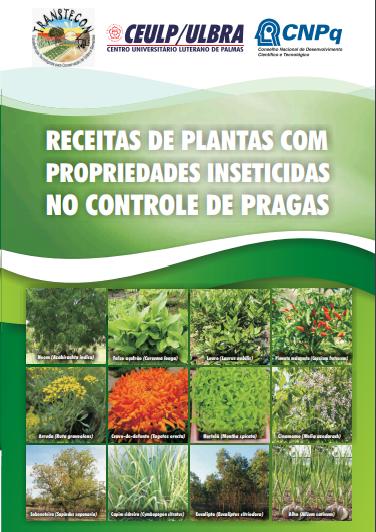 Cartilha apresenta plantas que funcionam como repelente de insetos e conservante de alimentos