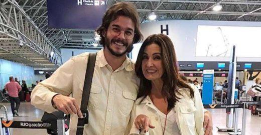 Túlio Gadêlha e <mark class='searchwp-highlight'>Fátima Bernardes</mark> fazem 1ª viagem internacional
