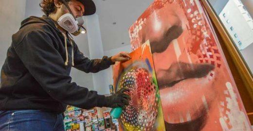 Machado de Assis é homenageado em evento com grafite, tour e mais