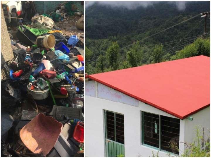 A EcoDom produz material de construção a partir de lixo plástico