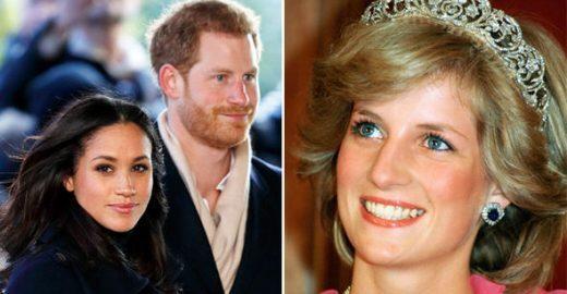 Em carta psicografada, Diana emite alerta a Harry e Meghan Markle