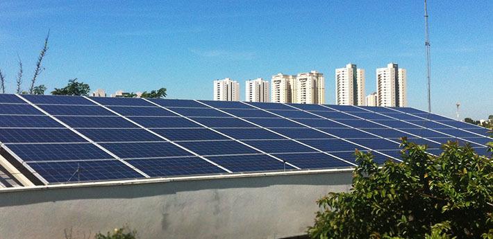 Sede do Sebrae MT possui duas usinas solares e não depende de energia elétrica
