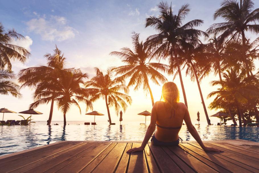 Resort praia