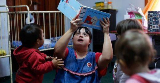 Noelia: a 1ª professora com Síndrome de Down da Argentina