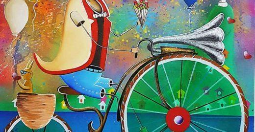 Arte de rua inspira mostra gratuita do grafiteiro Alemão