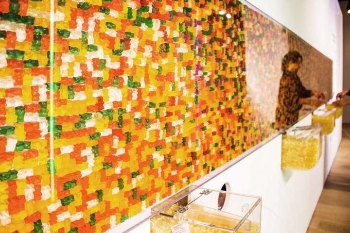 obra exposta na exposição Aromas e Sabores