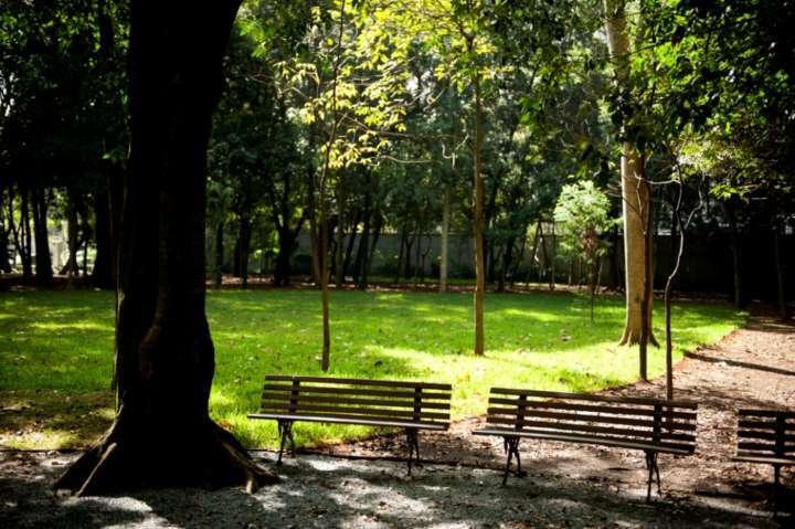 Jardim do Museu da Casa Brasileira