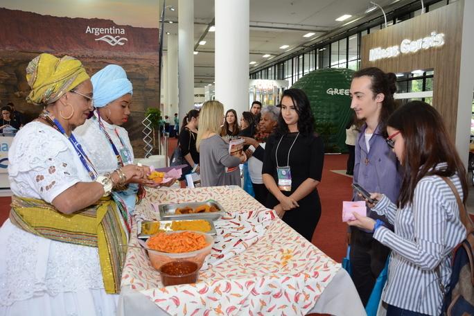 Mostra Viajar: degustação de pratos regionais