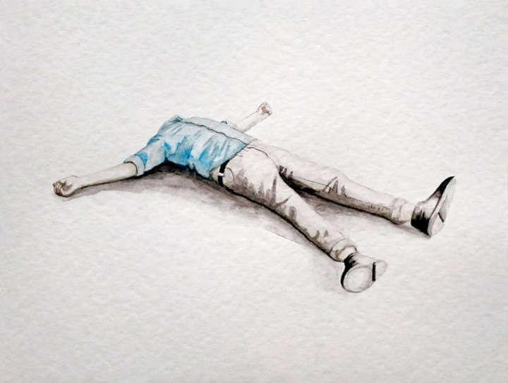 Obra Sem Título (201) de Francisco Hurtz é atração da mostra O Inquietante