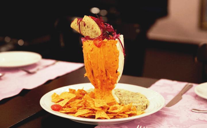 Taça salgada mexicana