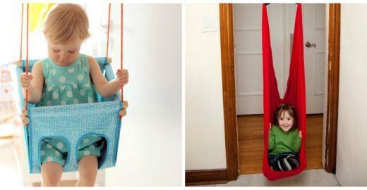 Confira inspirações para montar um balanço dentro de casa