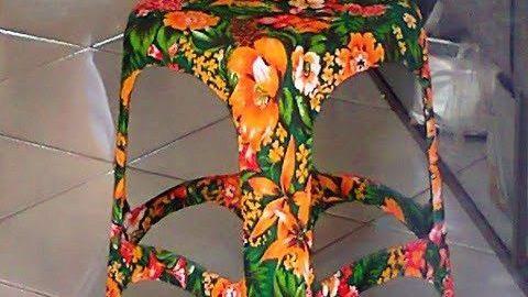 Da almofada ao banquinho: use chita para uma decoração linda e barata