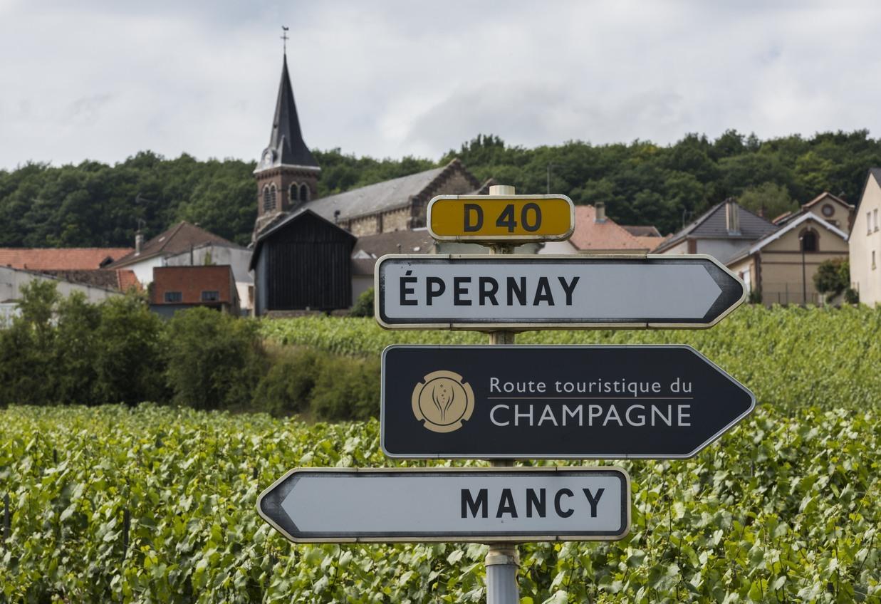 França tem até uma rota turística da champanhe