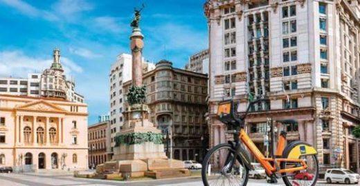 Aluguel de bicicletas zera tarifas nos dias de jogos do Brasil
