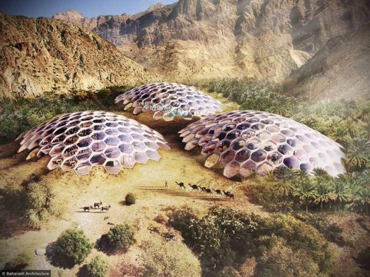 Biodome, retiro para turistas e centro de conservação