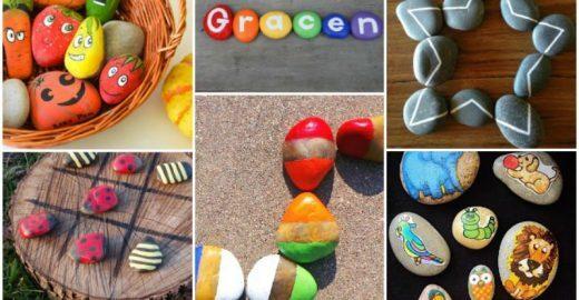 Confira mais de 20 ideias de brinquedos <br>feitos com materiais da natureza