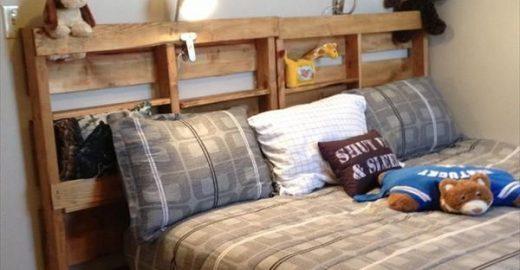 10 ideias para te inspirar a fazer uma cama com pallets de madeira
