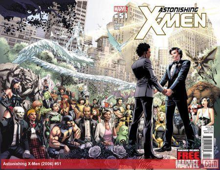 A capa de Surpreendentes X-men 51