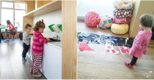 Café na Polônia é projetado para receber famílias com crianças
