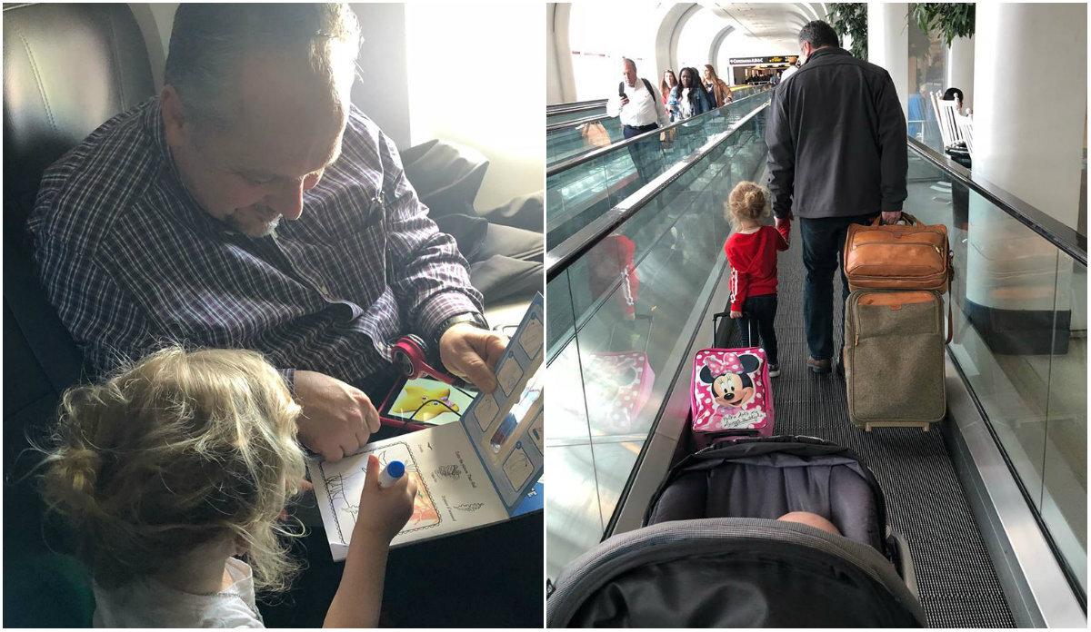 Desconhecido ajuda mãe com filhos no avião e viraliza