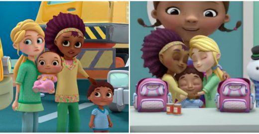'Doutora Brinquedos' mostra uma família formada por duas mães