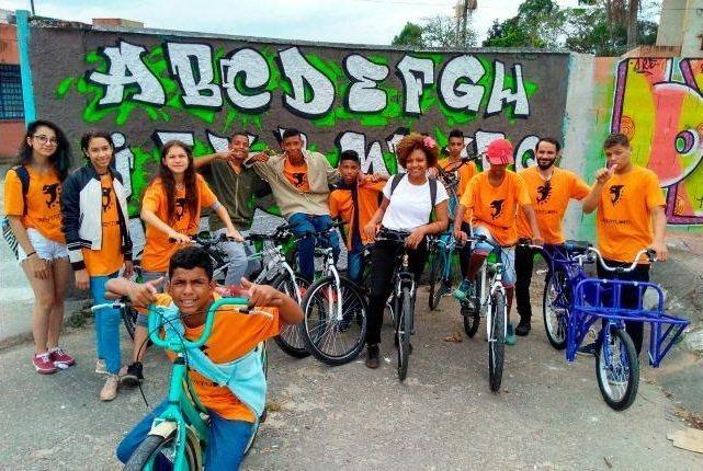 Projeto de incentivo à bicicleta na periferia de São Paulo