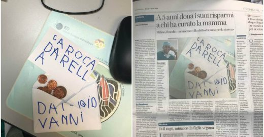 Garotinho entrega economias a médico que curou a mãe com câncer